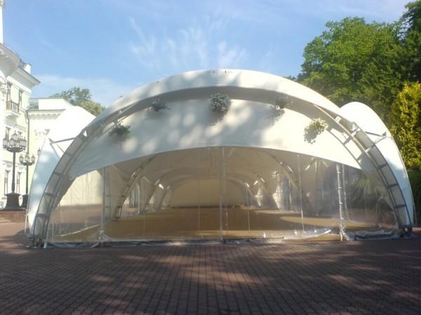 Изготовление тентового развлекательного центра в Минске