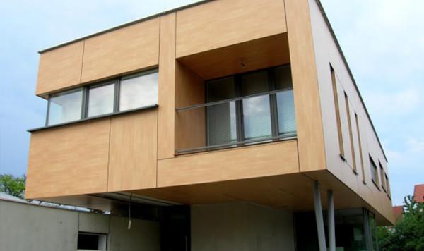 Вентилируемый фасад из hpl-панелей, цена отделки в Минске