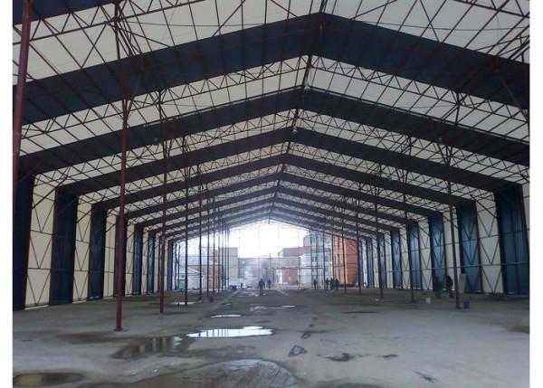 Изготовление склада шатрового типа в Минске