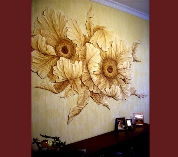 Художественная роспись стен цена