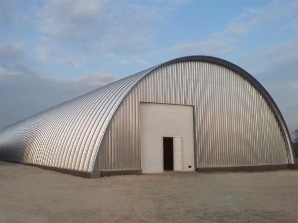 Строительство арочных производственных цехов в Минске