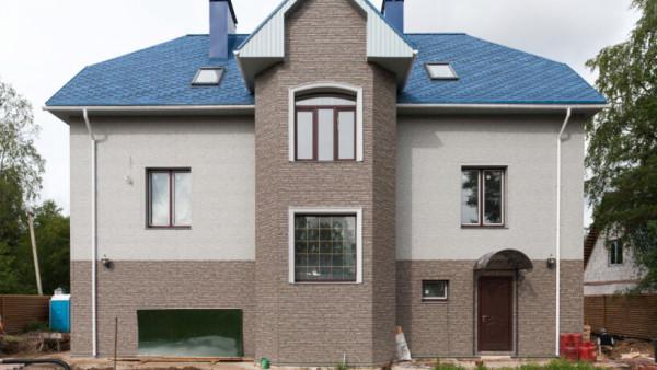 Цены фасадов из фиброцементных плит в Минске с материалом