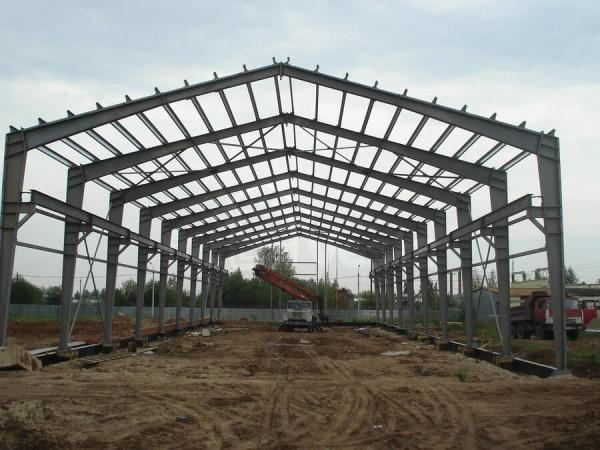 Цена строительства каркасных производственных цехов в Минске