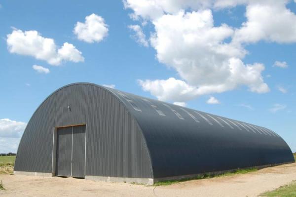 Строительство бескаркасных складов, цена в Минске