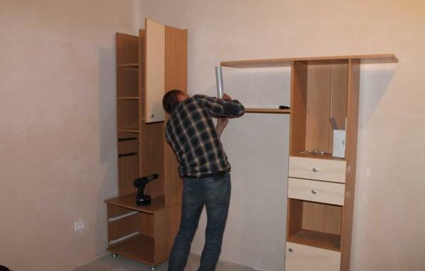 Цена сборки мебели в Минске