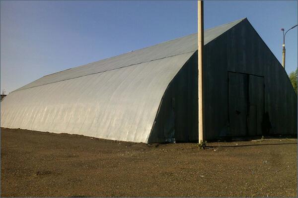 Строительство склада шатрового типа в Минске