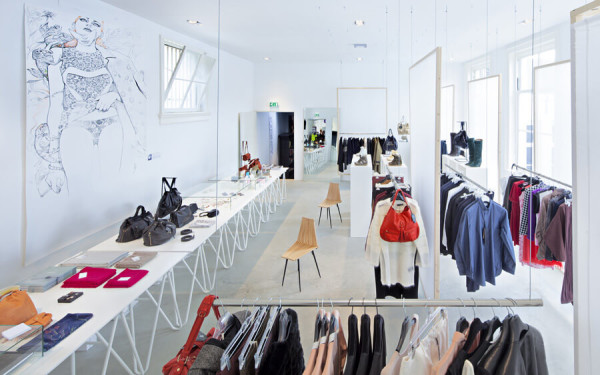 Дизайн интерьера магазина, цена в Минске