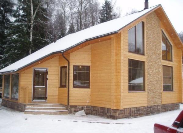 Цена финского дома из клееного бруса в Минске