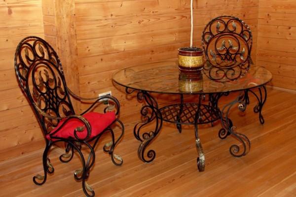 Кованая мебель на заказ в Минске