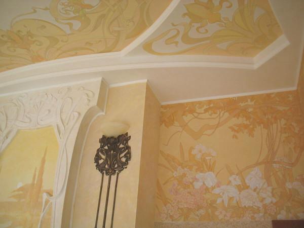 Заказать художественную роспись стен в Минске