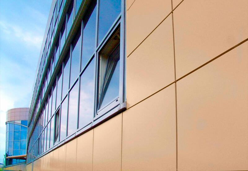 Фасад из металлокассет цена отделки