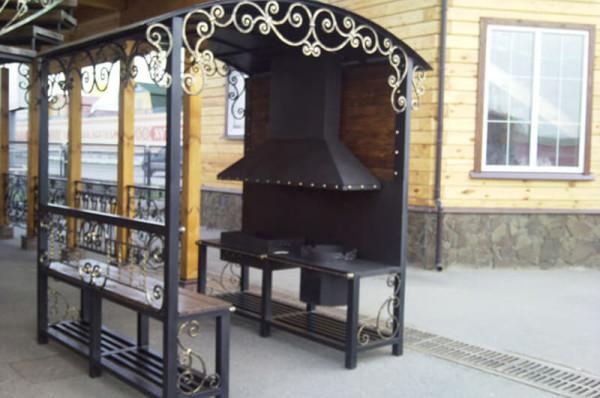Изготовление кованных беседок под ключ в Минске