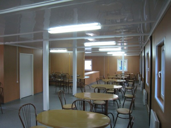 Изготовление модульного ресторана в Минске