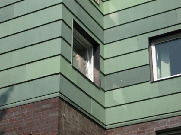 Отделк фасада медными панелями, стоимость в Минске