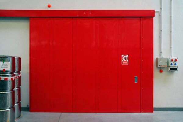Стоимость установки противопожарных ворот, работа с материалом в Минске