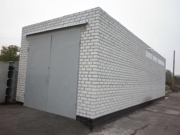 Цена строительства кирпичного гаража в Минске
