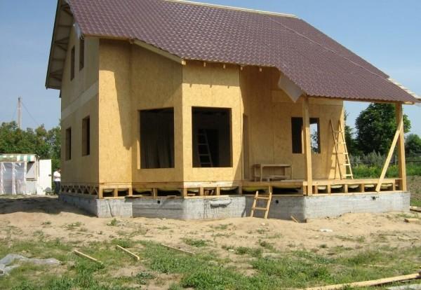 Стоимость каркасных деревянных коттеджей под ключ в Минске