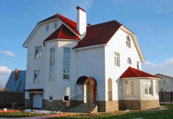 Коттеджи из газоблоков, цена строительства в Минске