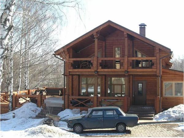 Заказать финский дом из клееного бруса в Минске
