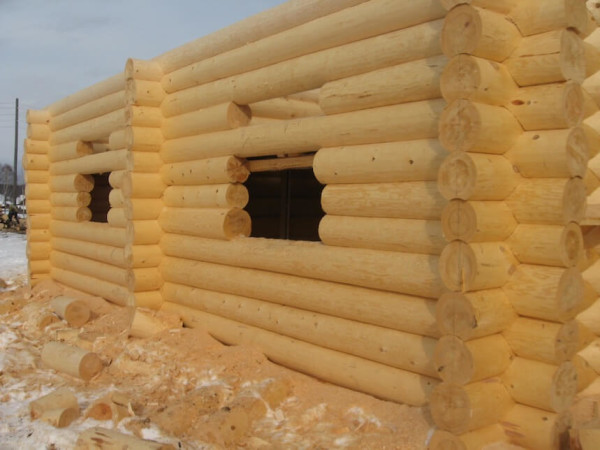 Построить сруб, цена в Минске
