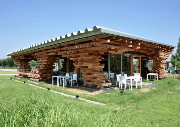 Строительство деревянных кафе в Минске
