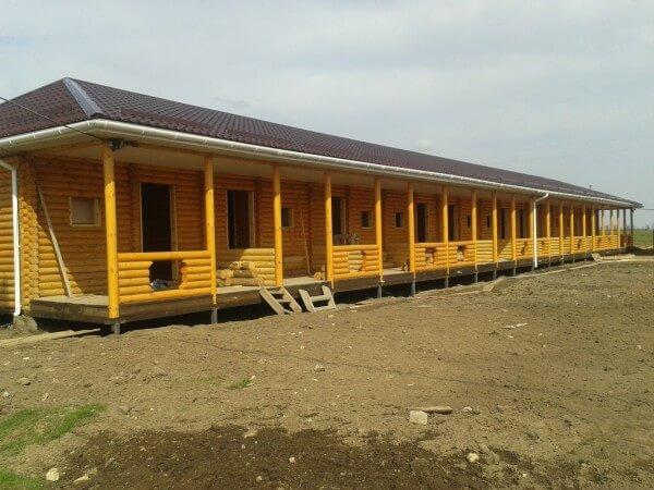 Деревянная гостиница, цена строительства в Минске