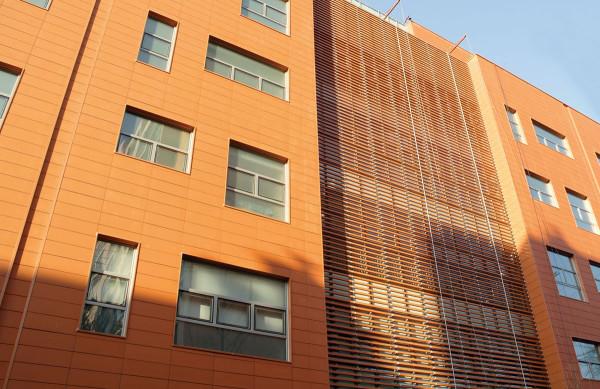 Фасад из терракотовых панелей, цена отделки в Минске