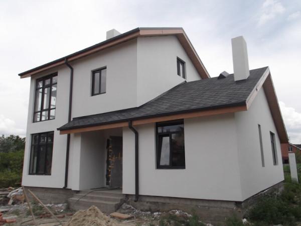 Заказать покрасить дом декоративной краской в Минске