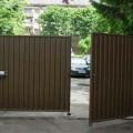 Распашные въездные ворота цена