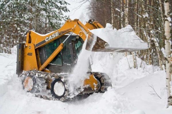 Заказать убрать снег в Минске