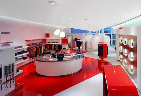 Стоимость дизайна интерьера магазинов в Минске