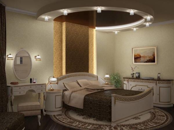Элитный ремонт спальни, заказать в Минске