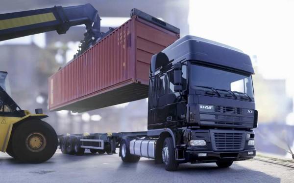 Перевозка в контейнере фурой в Минске