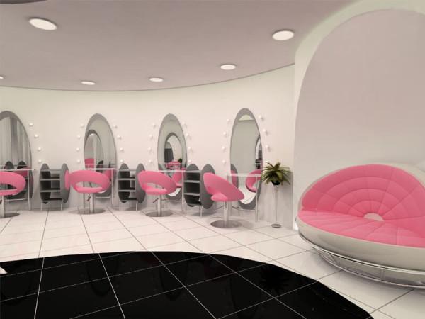 Дизайн интерьера салона красоты цена дизайнера