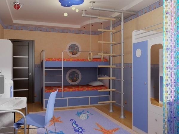 Элитный ремонт детской комнаты в Минске