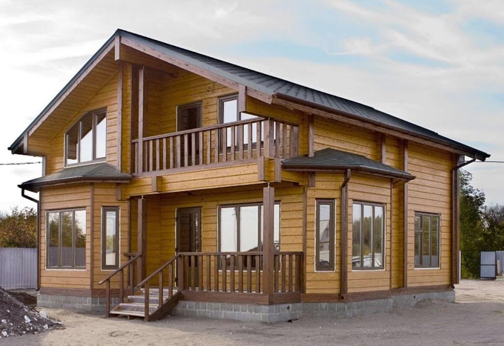 Разработать проект на дом из профилированного бруса в Минске