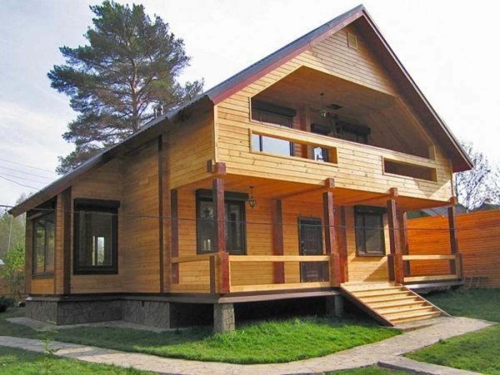 Разработка проекта дома из клееного бруса в Минске
