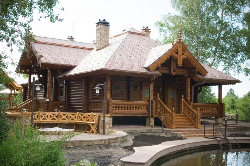 Заказать проект дома из оцилиндровки Минск