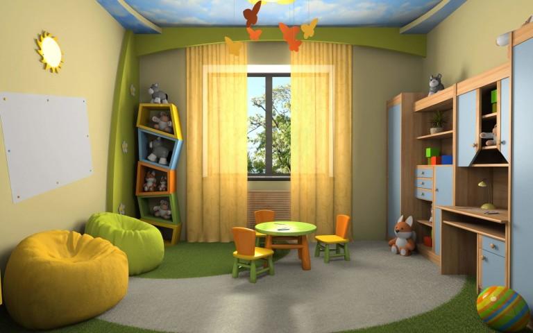 Ремонт в детской комнате для мальчика