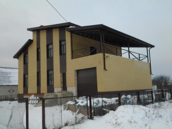 Разработанный проект дома из газосиликата в Минске