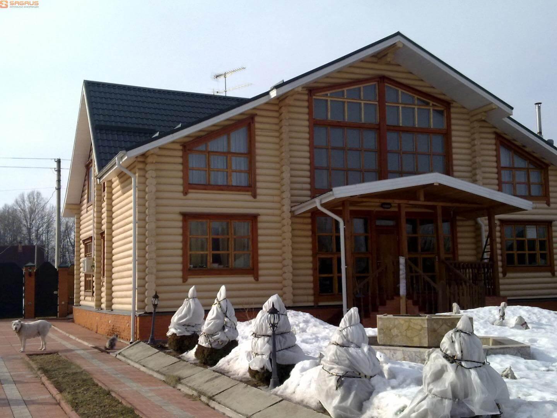 Проектирование дома из лафета, цена в Минске
