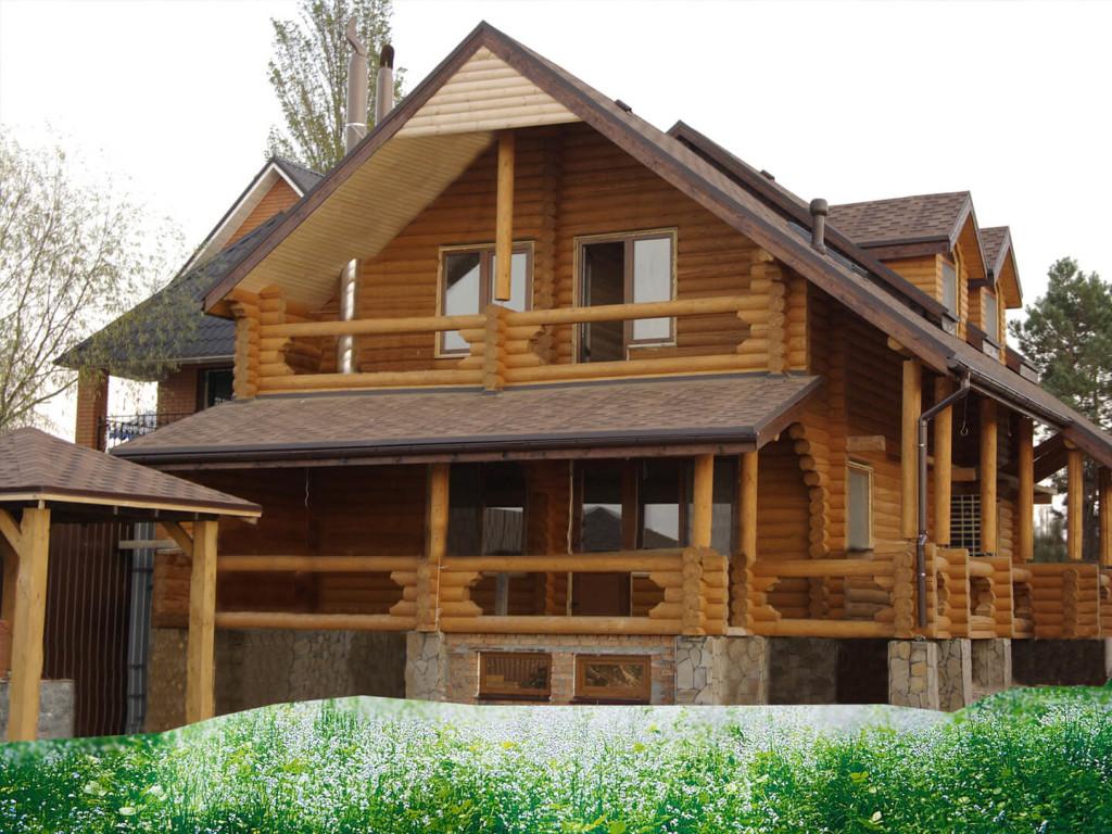 Цена проектных работ на оцилиндрованные дома в Минске
