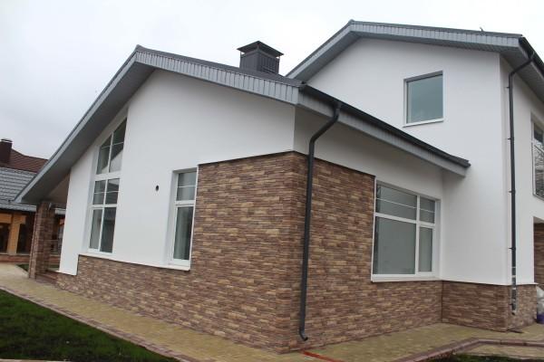 Проект дома из газосиликатных блоков, цена работ в Минске