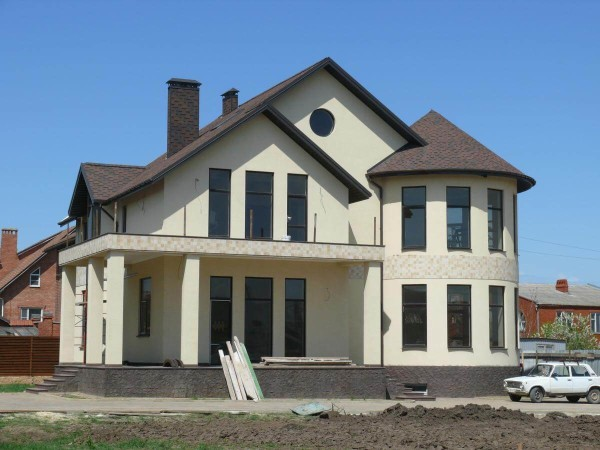 Проектирование дома из пеноблоков, цена в Минске