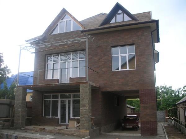 Разработанный проект дома из шлакоблоков в Минске