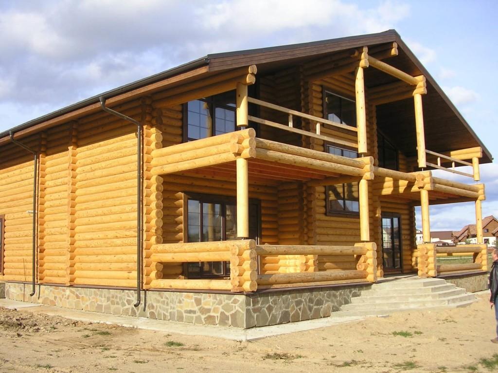 Составление проектов домов из оцилиндрованного бревна в Минске