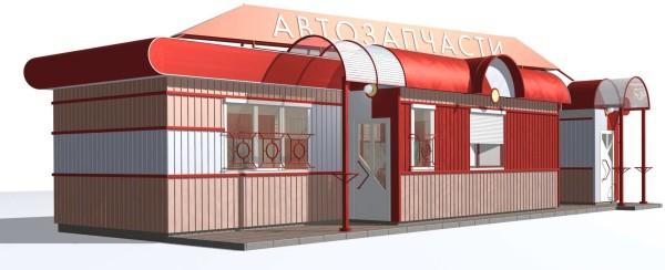 Проектирование павильонов, цена в Минске