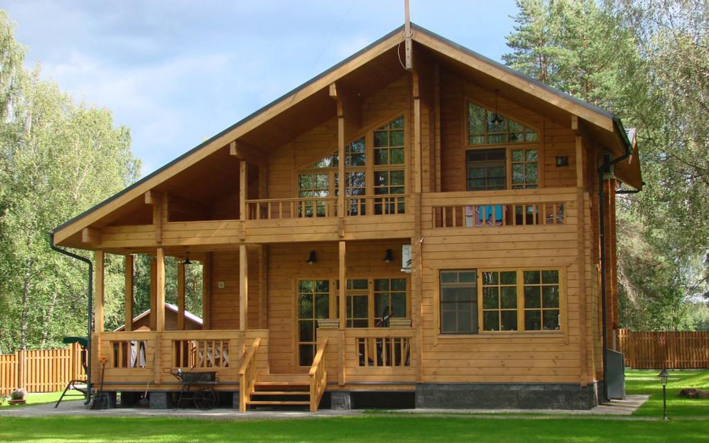 Разработанный проект дома из клееного бруса, цена работ
