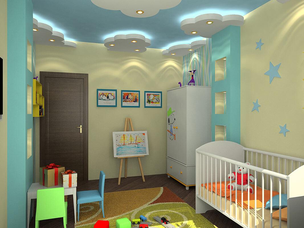 Отделка детской комнаты, цена работ в Минске