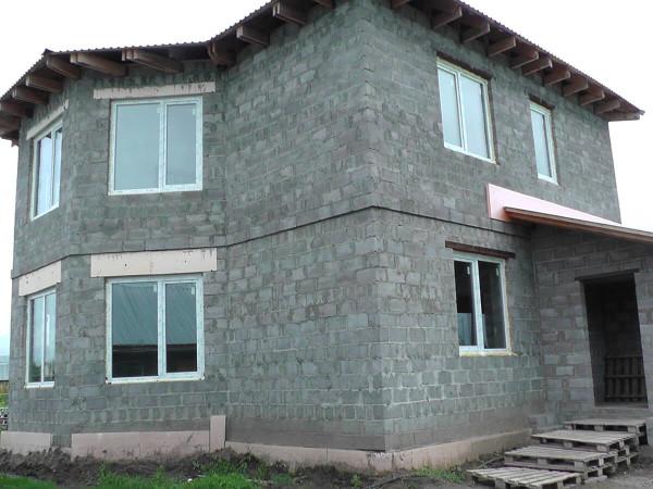 Заказать проект дома из шлакоблока в Минске
